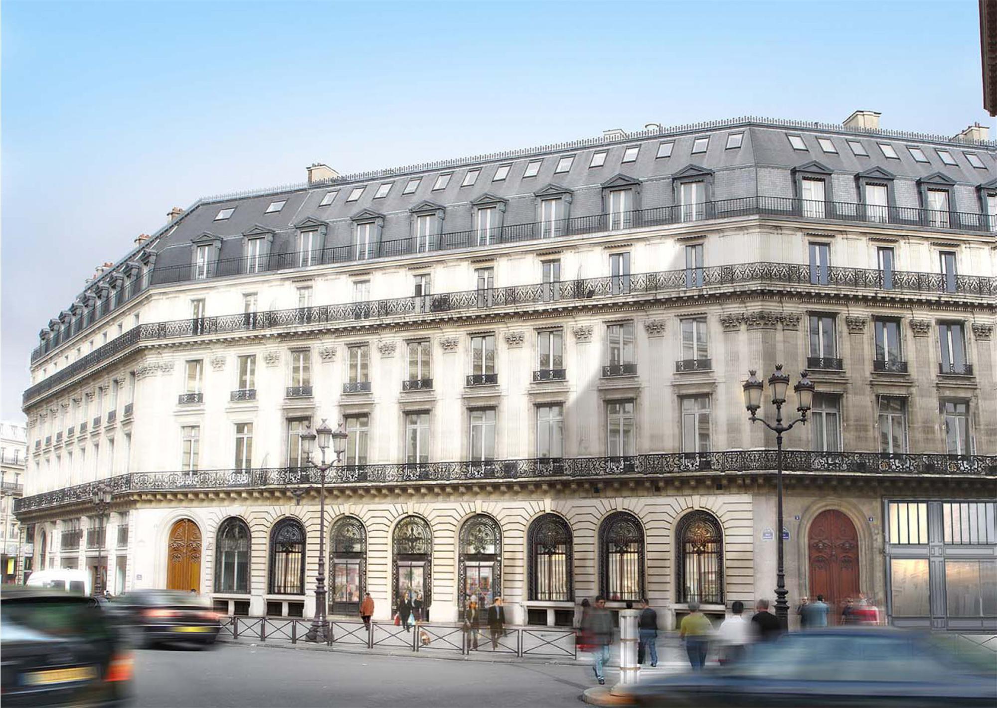 W Paris exterior