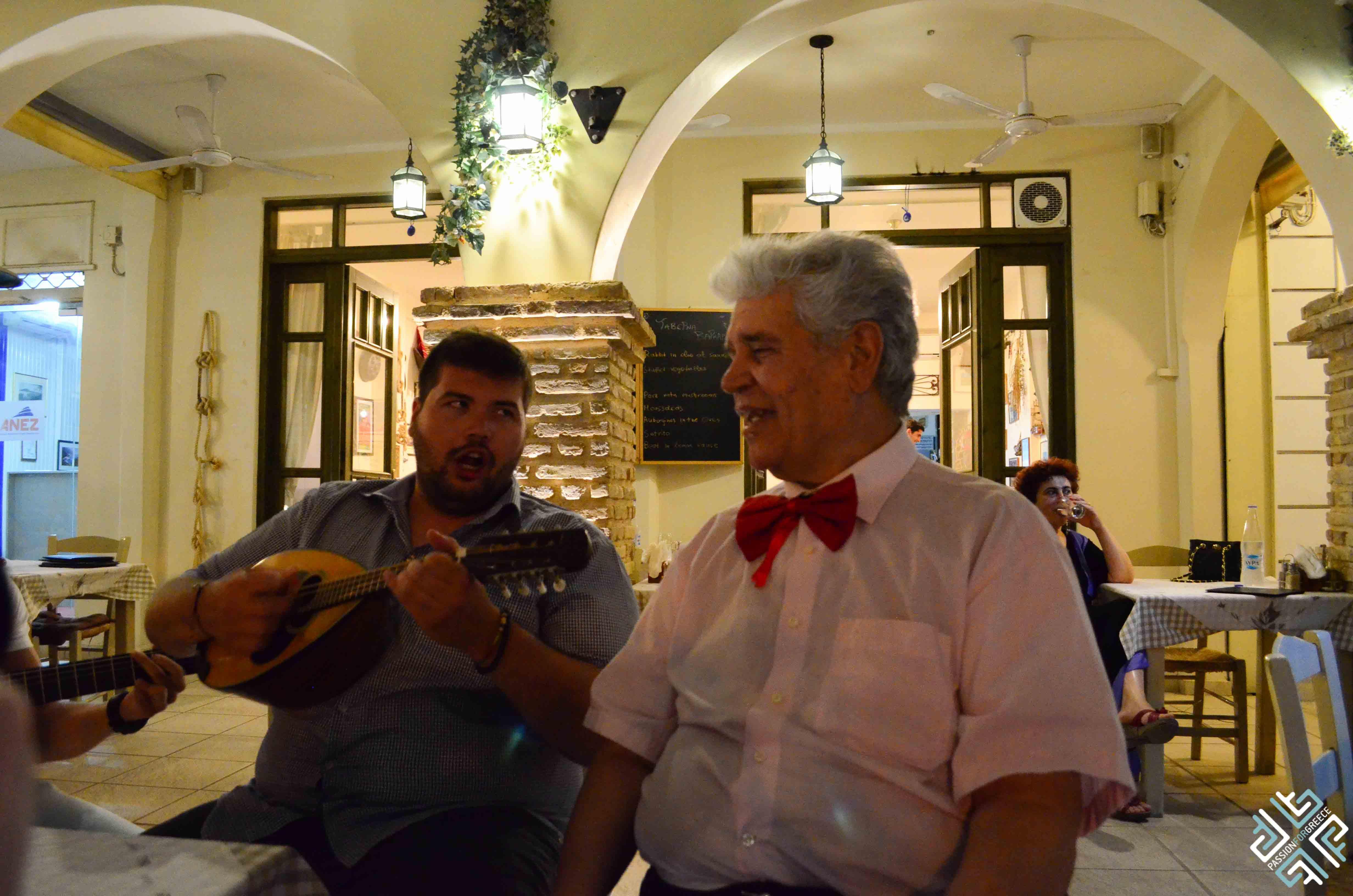 dining in Zakynthos