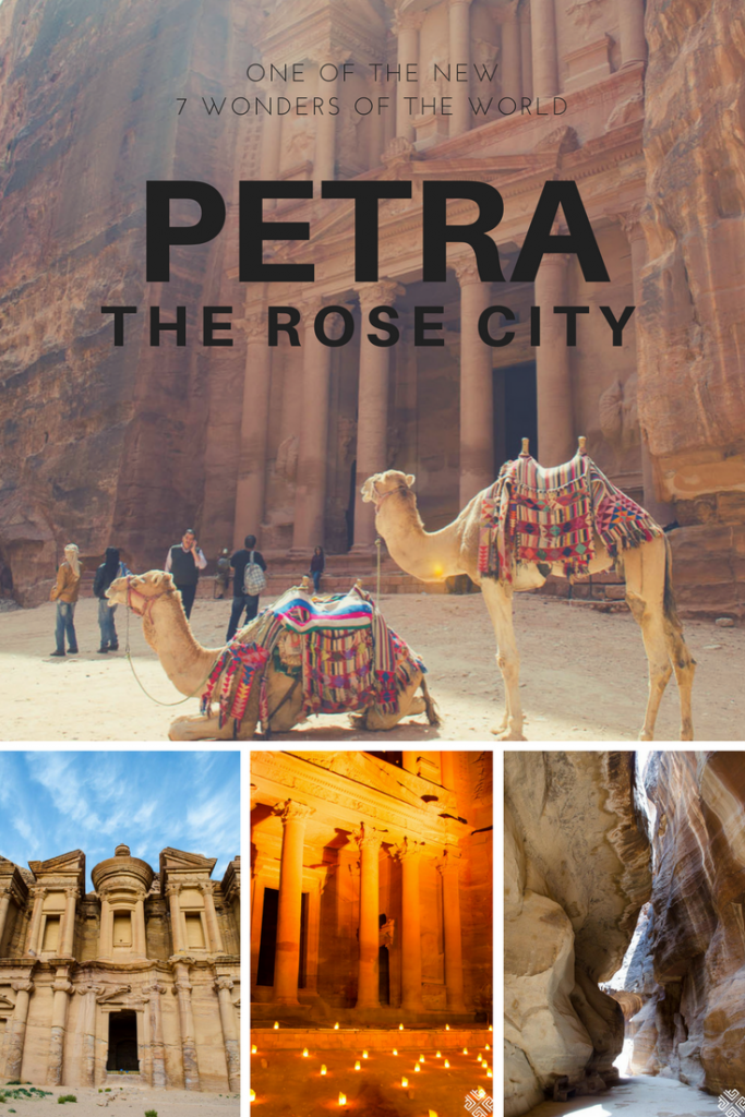 Petra is one of the world's seven wonders. Discover this unique place in Jordan