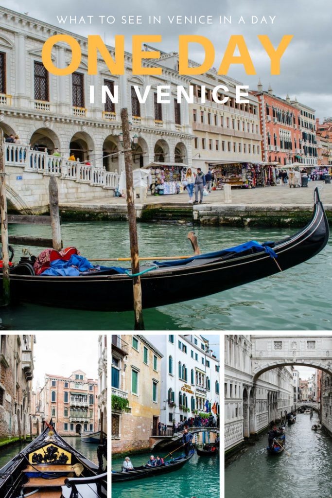 A guide to spending one day in Venice, Italy