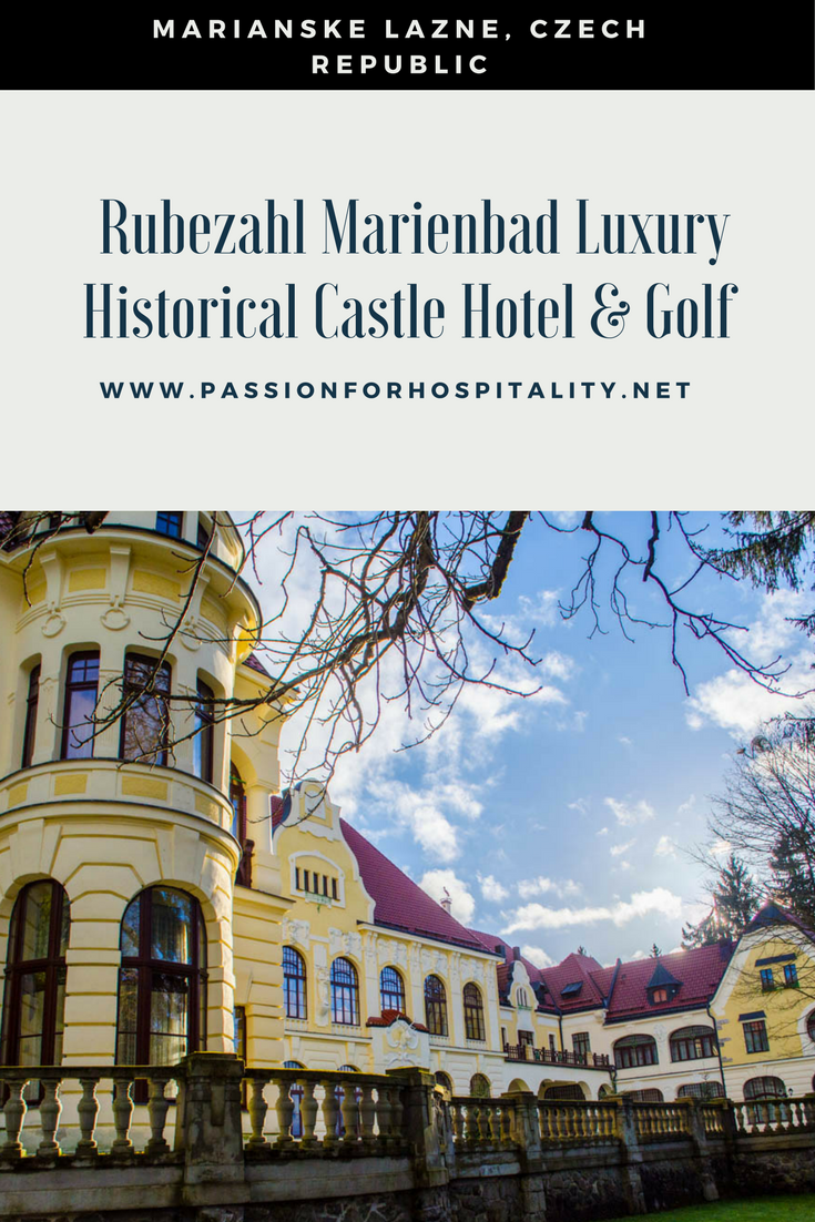 Experience the fairytale ambiance of the Rubezahl Marienbad Luxury Historical Castle hotel in Marianske Lazne, Czech Republic