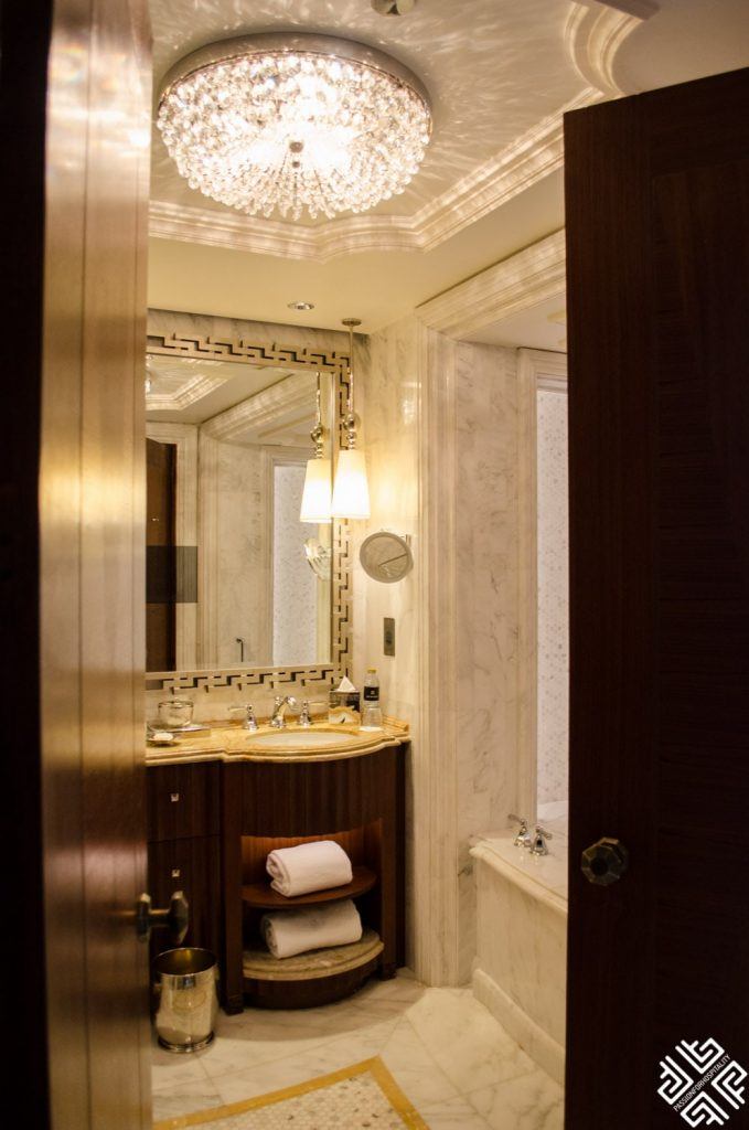 the most luxurious bathrooms in hotel in Abu Dhabi