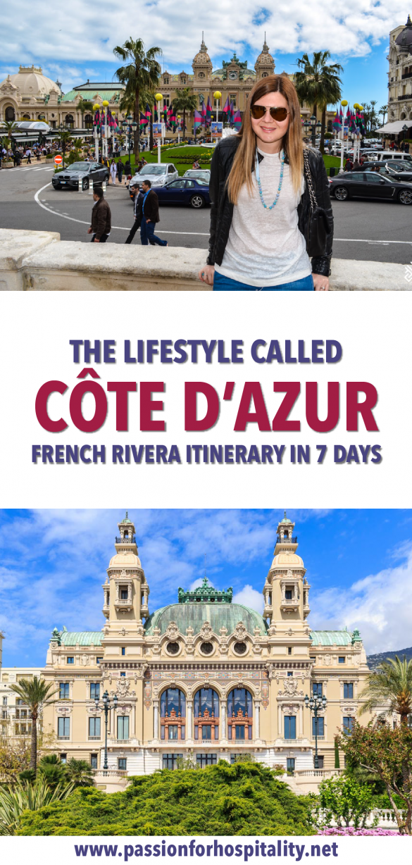 How to spend 7 days in the French Riviera #Cotedazur